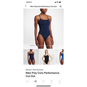 Nike bathing suit